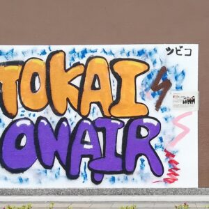岡崎有名人☆東海オンエアの壁画( ˘ω˘ )